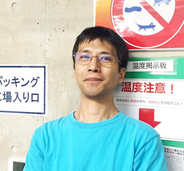 工場管理室 リーダー 上野 史雄