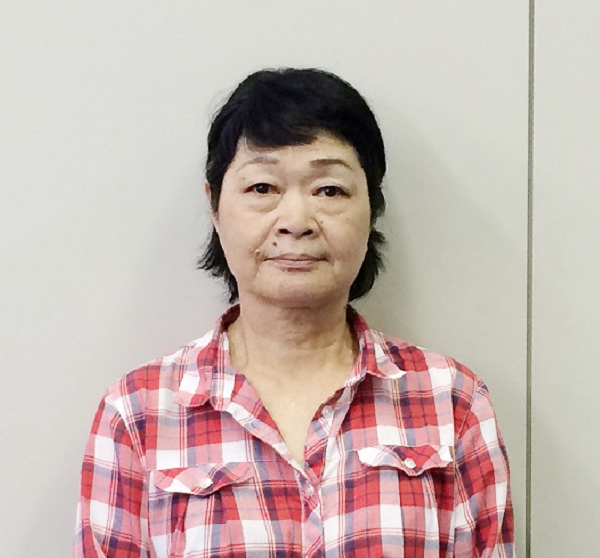 工場管理室 嶋村 京子