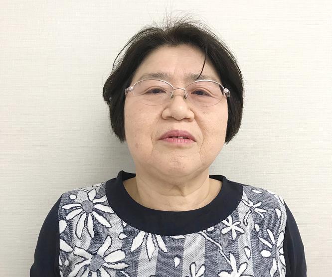 うれしの農園㈱ 工場管理室 佐波 敏子