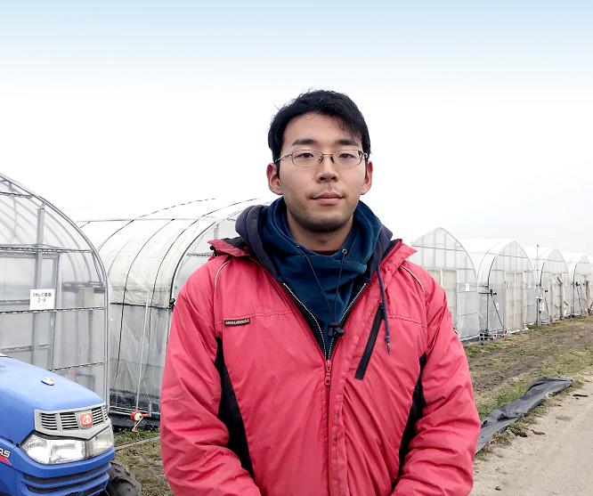 うれしの農園㈱ 栽培管理室 南 光矩