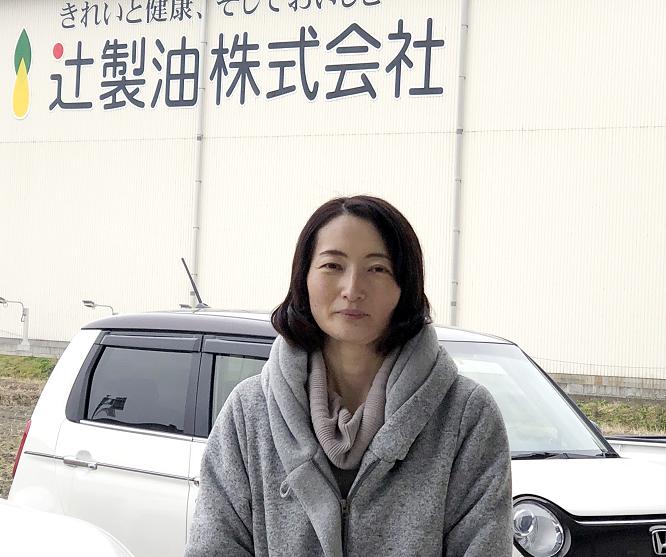 うれしの農園㈱ 工場管理室 加藤 裕子