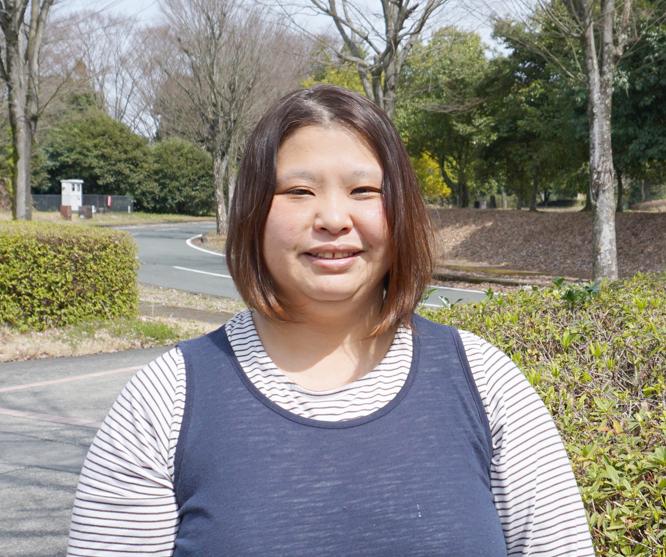 工場管理室 松尾 阿子