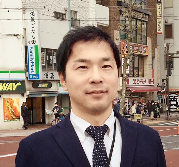 営業推進室 リーダー 岩戸 淳二