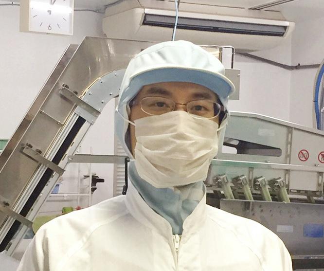工場管理室 主任 益子 岳史
