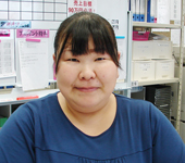 業務推進室 川﨑 悦子